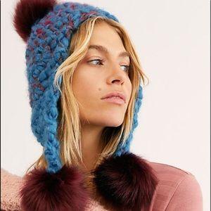 Free People Snow Castle Trapper Pom Hat
